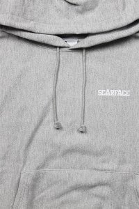 FOR THE HOMIES PULL HOODIE SCARFACE【OXFORD GRY】