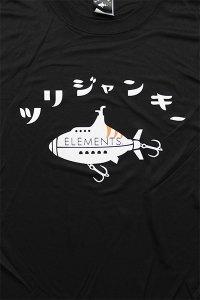 ELEMENTS×ツリジャンキー DRI L/S TEE FIRE HOOK  【BLK】