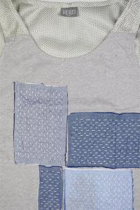 <img class='new_mark_img1' src='//img.shop-pro.jp/img/new/icons16.gif' style='border:none;display:inline;margin:0px;padding:0px;width:auto;' />IRIDIUM MESH TANKTOP PATCHWORK 【GRY】
