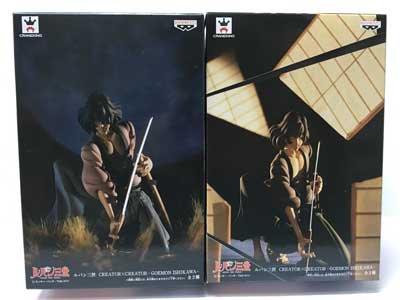 ルパン三世 CREATOR X CREATOR -GOEMON ISHIKAWA- 石川五右衛門2体セット