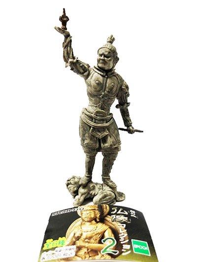 エポック 和の心 仏像コレクション2 多門天像(毘沙門天)  TC00040