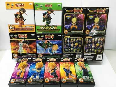 一番くじ ワールドコレクタブルフィギュア ドラゴンボール〜Z編〜 ラストワン含む全25種フルセット dw00114