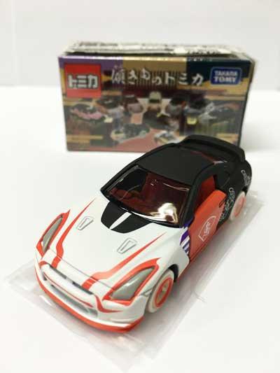 傾きものトミカ 我恵:日産 GT-R TMC00328