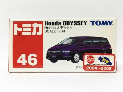 トミカ NO.46 Honda オデッセイ(中国製)(新車シール付)