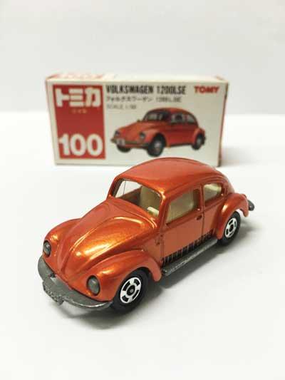 トミカ NO.100 フォルクスワーゲン 1200LSE 赤箱(日本製)