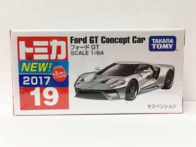 トミカ 19 フォード GT(新車シール付き) TMC00716