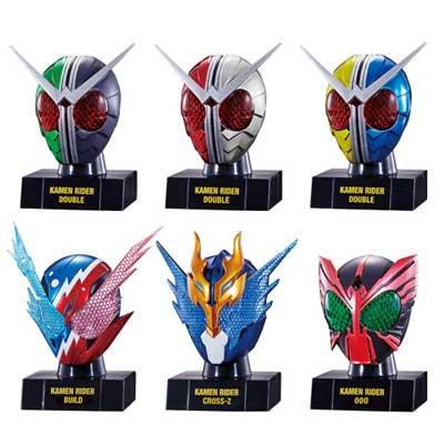 バンダイ 仮面ライダー仮面之世界 マスカーワールド5 全6種フルセット BS0201