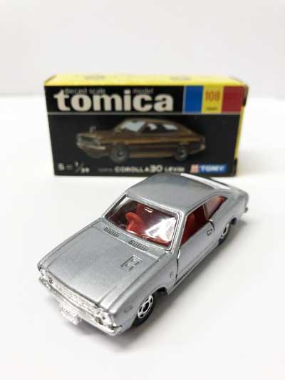トミカ 108 トヨタ カローラ 30レビン 黒箱 TMC00529
