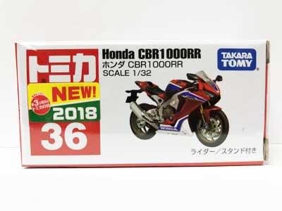 トミカ 36 ホンダ CBR1000RR(新車シール付き) TMC00768