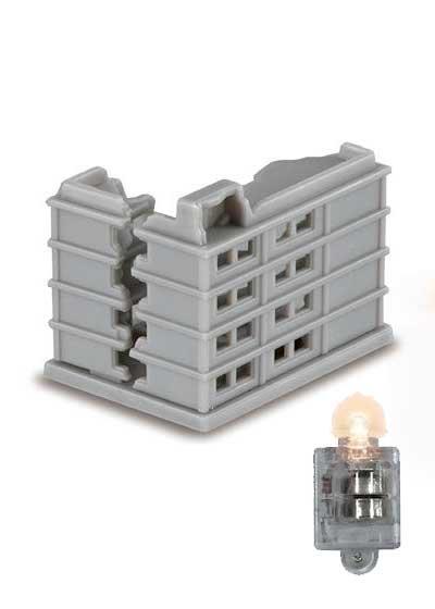 バンダイ アルティメットルミナス ウルトラマン10 解体中ビルA+ルミナスユニット UC00081