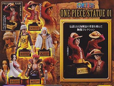 バンダイ ONE PIECE STATUEーワンピース スタチューー01 ノーマル5種セット BC0055