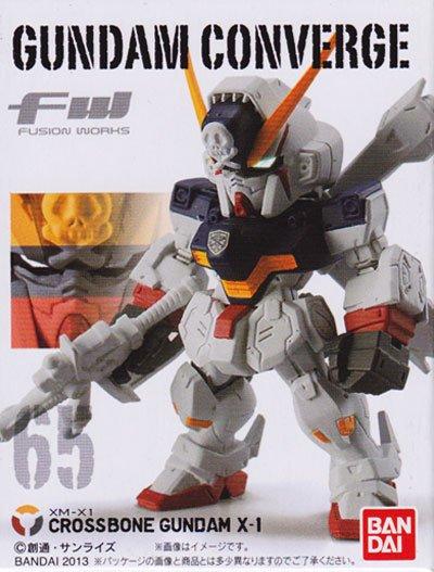 バンダイ F.W.ガンダムコンバージ11 65 クロスボーンガンダムX−1 CV0003