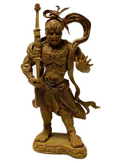 エポック 和の心 仏像コレクション 金剛力士立像 阿形 TC00412