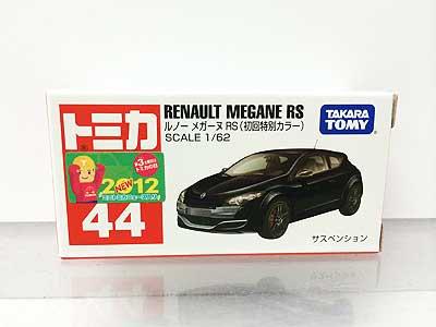 トミカ 44 ルノー メガーヌ RS(初回特別カラー) TMC00466
