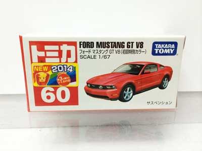 トミカ 60 フォード マスタング GT V8(初回特別仕様) TMC00461