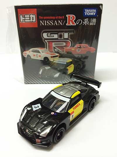 トミカ NISSAN/Rの系譜 日産 GT-R(R35)スーパーGTテストカー TMC00546