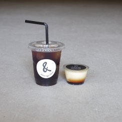 Icedcoffee*1 & pudding*1
