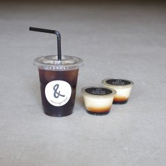 Icedcoffee*1 & pudding*2