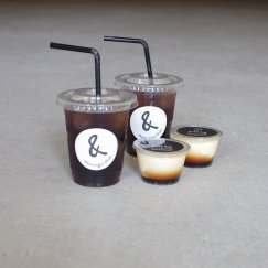 Icedcoffee*2 & pudding*2