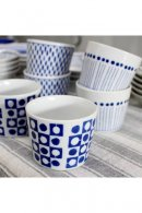 美濃焼 BLUE PATTERN MINI CUP
