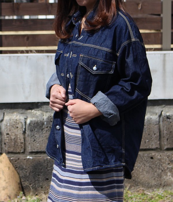 BIG! DENIM SHIRT