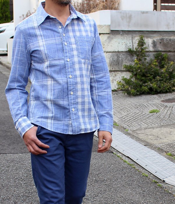 COTTON LINEN MIX SHIRT