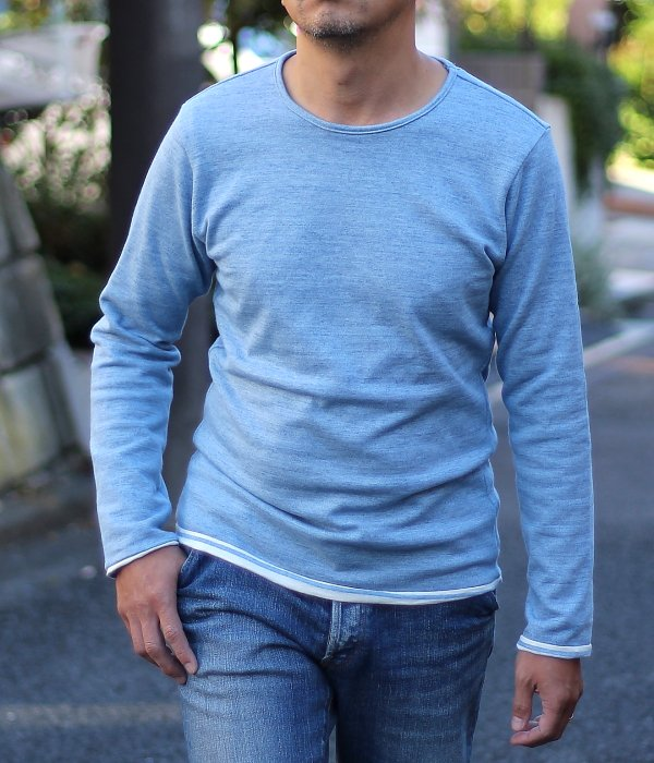 <img class='new_mark_img1' src='//img.shop-pro.jp/img/new/icons5.gif' style='border:none;display:inline;margin:0px;padding:0px;width:auto;' />REVERSIBLE BORDER L/S T-SHIRT