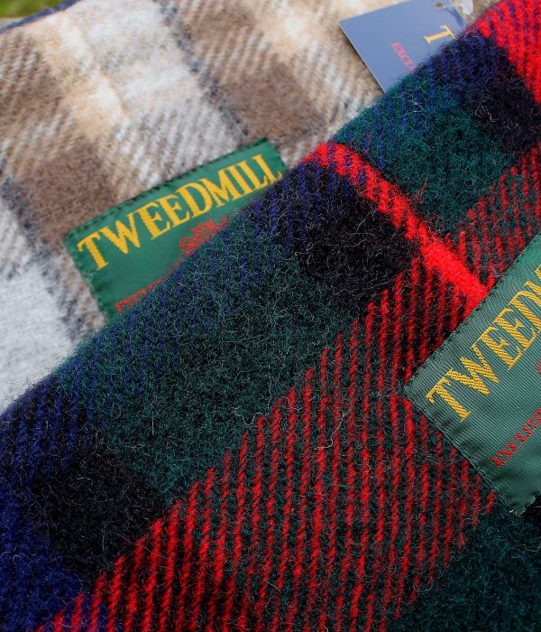 【TWEEDMILL】 FLEECE NECK WARMER