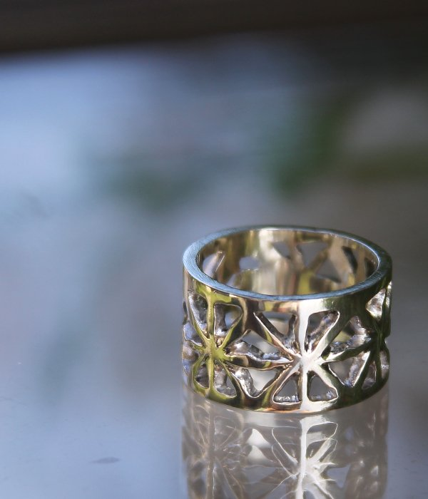 "【MARUCO】 ""FLOWER"" RING"