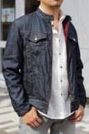 <img class='new_mark_img1' src='//img.shop-pro.jp/img/new/icons24.gif' style='border:none;display:inline;margin:0px;padding:0px;width:auto;' />REVERSIBLE DENIM RIDERS JACKET