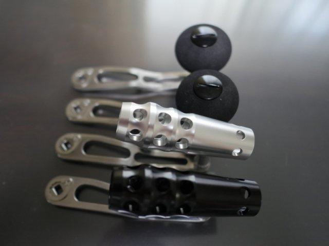 ロングハンドル(10cm/11cm)&アルミTノブ工事込み