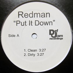 Redman - Put It Down (Def Jam - REDMANPUTITDOWN)(2007)