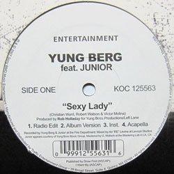 Yung Berg - Sexy Lady / What It (Koch Records - KOC-125563)(2007)