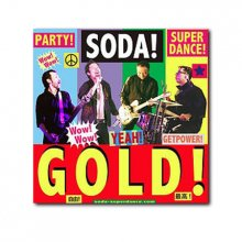 SODA! 3rd Alubm『GOLD!』CD