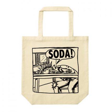 SODA!_イラストトートバッグ
