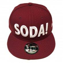 SODA!×NEW ERAコラボスナップバックキャップ第二弾