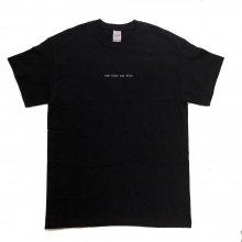 rem time rem time_ロゴ刺繍Tシャツ