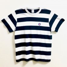 "Scoobie Do_""CHAMP"" Summer border Tシャツ(Navy × White)"