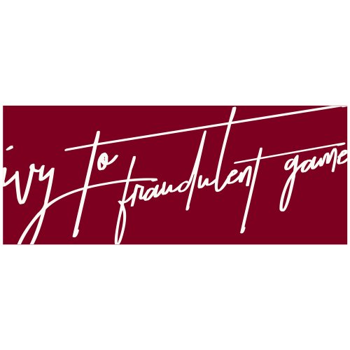 Ivy to Fraudulent Game_Logo Towel_2019 summer-ver