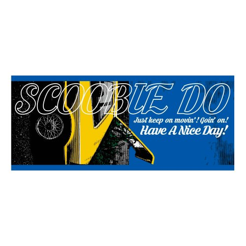 "Scoobie Do_""Have A Nice Day!"" フェイスタオル"