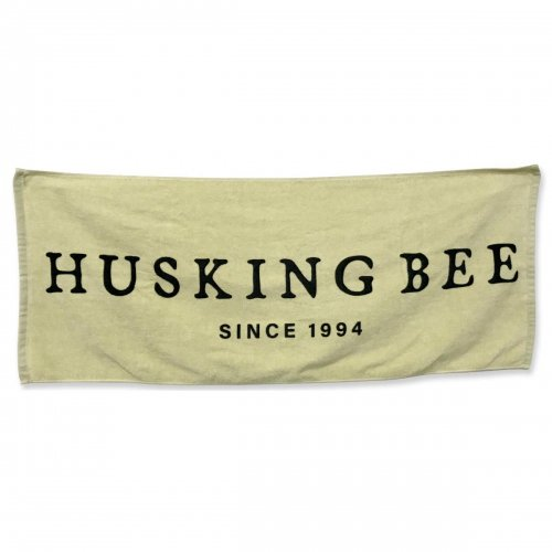 HUSKING BEE_25thタオル