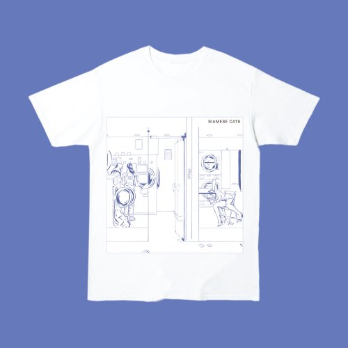 シャムキャッツ_Discography Cover T-shirt