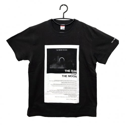 <img class='new_mark_img1' src='//img.shop-pro.jp/img/new/icons5.gif' style='border:none;display:inline;margin:0px;padding:0px;width:auto;' />HUSKING BEE_The Sun And The Moon Tシャツ