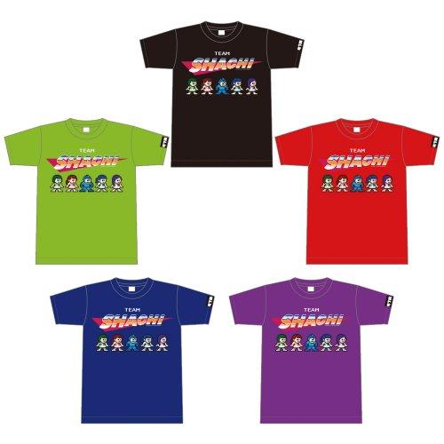 TEAM SHACHI_ROCKMAN×TEAM SHACHI コラボTシャツ