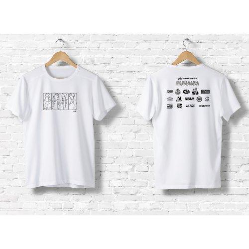 [受注生産]ircle_HUMANiAツアーTシャツ