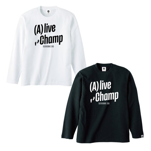 Scoobie Do_(A)liveChamp Long Sleve Tシャツ