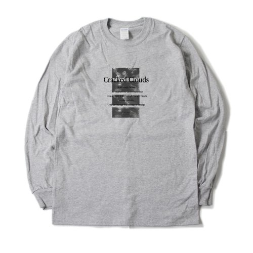 "[受付終了]CRCK/LCKS_""Cracked Clouds""  ロンT"
