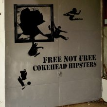 COKEHEAD HIPSTERS『FREE NOT FREE』