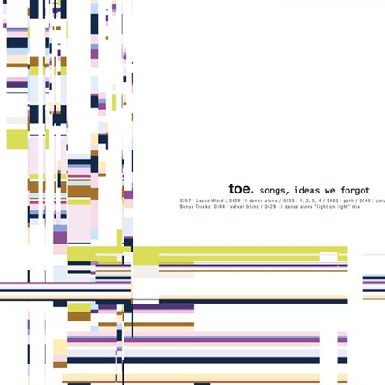 toe『songs, ideas, we forgot』CD