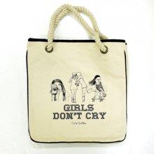 Curly Giraffe Tote Bag